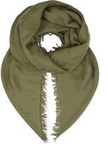 Maje Cotton-blend scarf