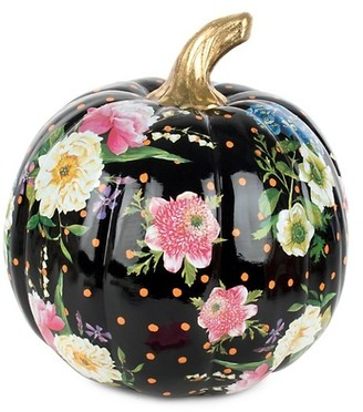 Mackenzie Childs Medium Flower Market Pumpkin