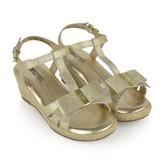 Michael Kors Michael KorsGirls Gold Wedge Sandals