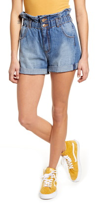 STS Blue Hayley Paperbag Waist Denim Shorts
