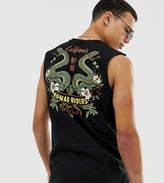 Asos Design ASOS DESIGN Tall organic cotton tank with dragon print