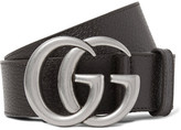 Gucci 4cm Brown Full-Grain Leather Belt