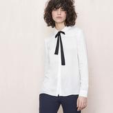 Maje Tie-neck blouse