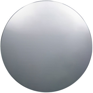 House Doctor - Large Wall Mirror - Round - Grey