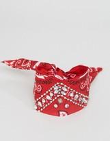 Asos Embellished Multiway Bandana Choker & Bracelet