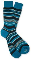 Pretty Green Irregular Striped Socks