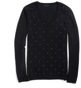 Tommy Hilfiger Final Sale-French Knot Dot Print Sweater