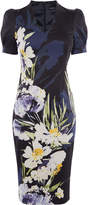 Karen Millen Sculpting Floral Pencil Dress