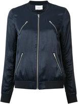 Just Female multi-pockets bomber jacket - women - Polyester/Viscose - S
