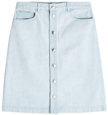 A.P.C. Therese Denim Skirt