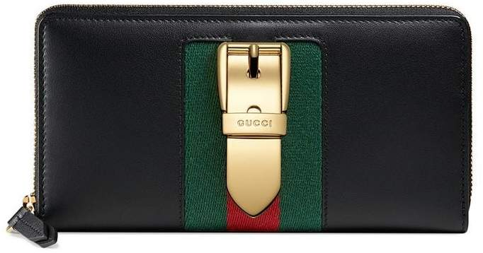 Gucci Sylvie zip around wallet