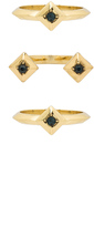 House Of Harlow The Lyra Ring Set