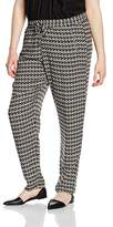 Via Appia Women's Relaxed Trousers - Multicoloured -
