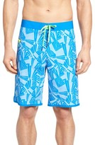 Vineyard Vines Men's Abstract Palms Board Shorts