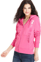 The North Face Top, Long-Sleeve Catch Away Logo Zip-Up Hoodie