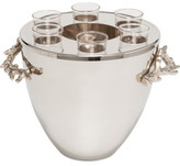 Michael Aram Ocean Coral Vodka Service/ Ice Bucket