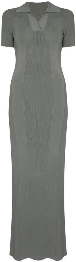 Jacquemus Cutout Maxi Dress