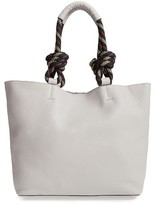 Rebecca Minkoff Climbing Rope Leather Tote - Beige