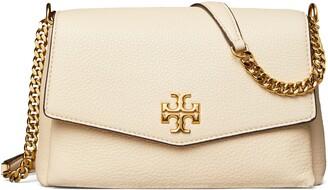 Tory Burch Small Kira Leather Convertible Crossbody Bag