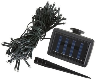 Pure Garden Outdoor Solar Powered 100-Bulb Wide Angle LED Mini String Light Size: 72 ft.