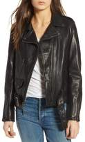 Schott NYC Women's Lightweight Perfecto Leather Jacket