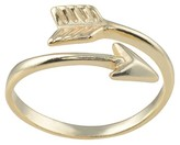 Journee Collection Women's Arrow Wraparound Ring in Sterling Silver