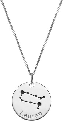 Limoges Jewelry Women's Necklaces SILVER - Sterling Silver Zodiac Sign Personalized Pendant Necklace