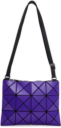Bao Bao Issey Miyake Blue Small Matte Lucent Crossbody Bag