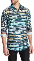 Robert Graham Hooligans Long Sleeve Classic Fit Woven Shirt