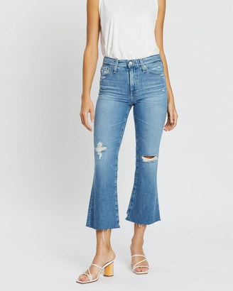 AG Jeans Quinne Crop Jeans