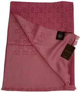 Gucci Pink Wool Scarves