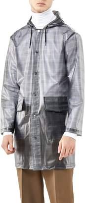 Rains Check Hooded Rain Jacket