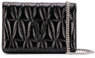 Versace Virtus quilted mini bag