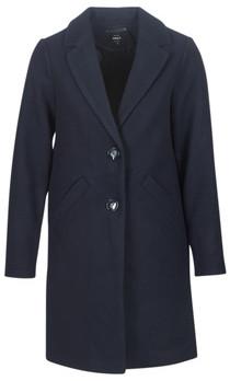 Only ONLVERONICA women's Coat in Blue