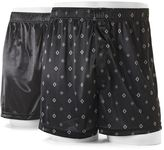 Croft & Barrow Men's 2-pack Solid & Patterned Microfiber Knit Boxers