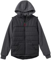 Pacific Trail Boys 8-20 Quilted Vest Hoodie