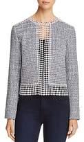 T Tahari Annabeua Embellished Jacket