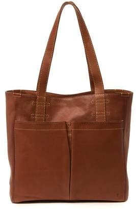 Frye Mindy Leather Pocket Tote