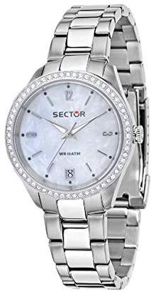 Sector Women's Analogue Quartz Watch with Stainless Steel Strap R3253486502