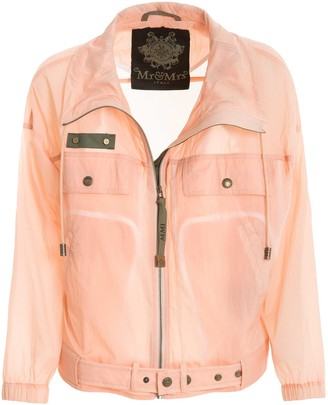 Mr & Mrs Italy Waterproof Crispy Nylon Jacket
