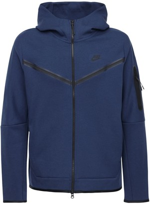 Nike Cotton Blend Zip-Up Sweatshirt Hoodie
