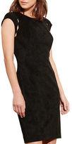 Lauren Ralph Lauren Scalloped Cutout Dress