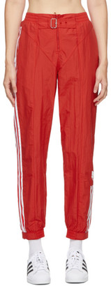 adidas Red Paolina Russo Edition Striped Track Pants