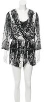 Twelfth Street By Cynthia Vincent Printed Mini Dress w/ Tags