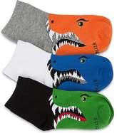 Stride Rite 3PK Billy Dino Qtr Socks