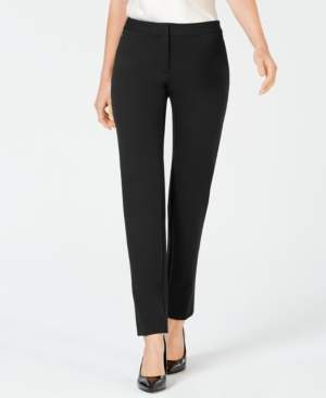 Alfani Petite Ponte-Knit Slim-Leg Pants, Created for Macy's