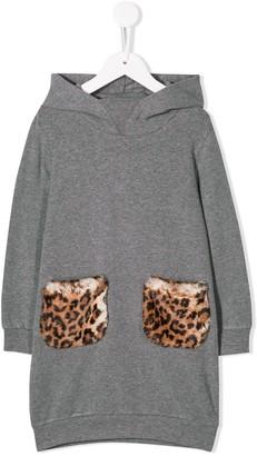 Il Gufo Long-Sleeved Sweater Dress