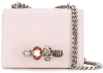 Alexander McQueen jewelled Knuckle Duster bag