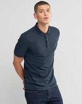 Farah Polo Shirt In Regular Fit In Navy
