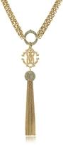 Roberto Cavalli RC Lux Gold Tone Necklace